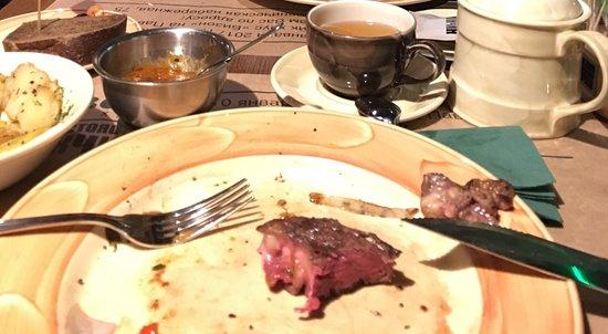 Bison Steak House: Стейки приготовлять разучились. Жаль.