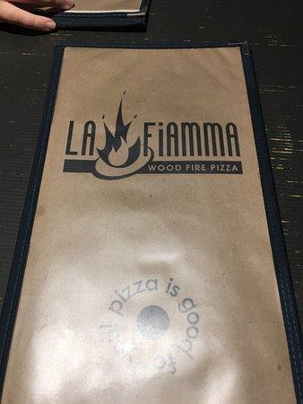 LA Fiamma Wood Fire Pizza: Menu