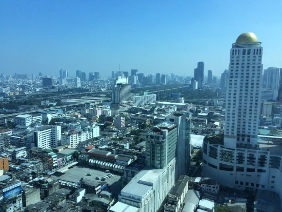 Amari Watergate Bangkok: View from our room