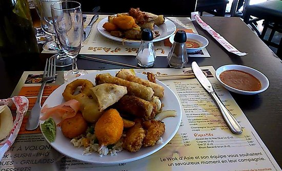 Port-de-Bouc, France : Buffet à volonté