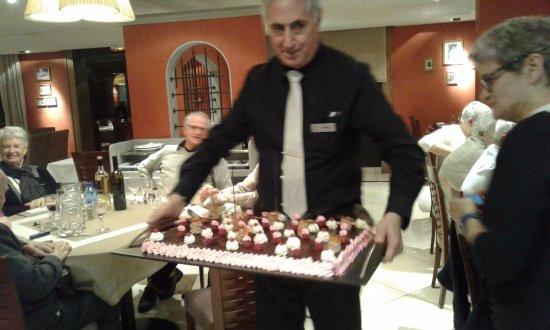 Servotel Saint-Vincent : gâteau de bienvenue !!!!