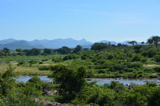 Pestana Kruger Lodge: view from room facing Crocodile river