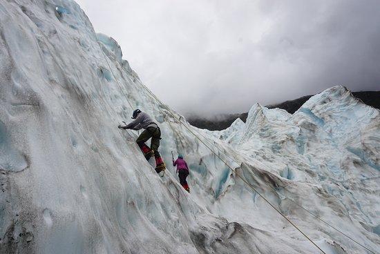 Fox Glacier, Nueva Zelanda: Second climb II
