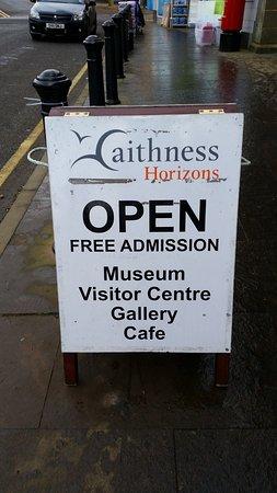 Caithness Horizons: sign