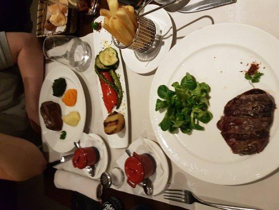 Patagonia Beef & Wine: Nydelig mat😊