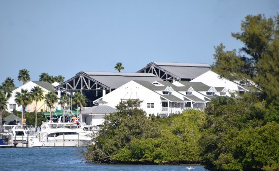 Holiday Inn Hotel & Suites Clearwater Beach: Hotel taken From - The Inter coastal Waterway..