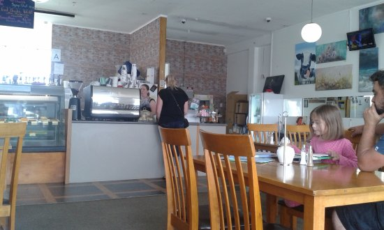 Foxton, Nowa Zelandia: Milky Whey Cafe - a simple local welcoming cafe
