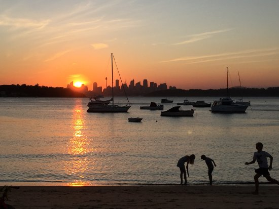 Watsons Bay, Australien: View from our table