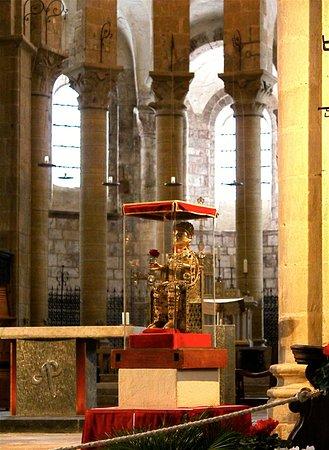 Statue reliquaire de Sainte Foy