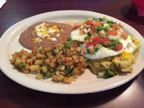 Tkilaz Mexican Restaurant Bar And Grill Breakfast Migas Chilichilis Menu