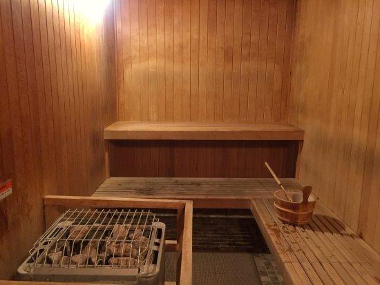 Trapp Family Lodge: Outside hot tub and sauna