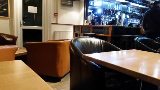 Thurso, UK: seating
