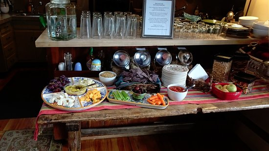Hacienda Nicholas Bed & Breakfast Inn: Vesper Häppchen