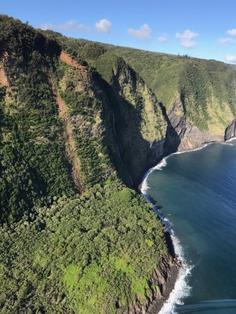 Waikoloa, HI: view from the helicopter