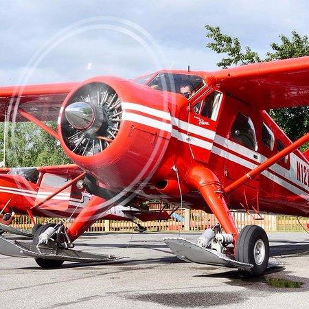 Talkeetna, Αλάσκα: Ready for take off!