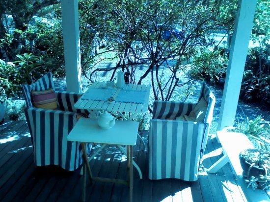 Huskisson, Australia: Breakfast on the verandah