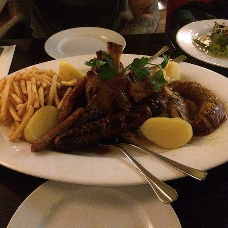 Nice German food