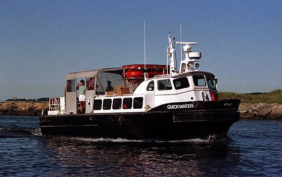 Falmouth, MA: The Quickwater water shuttle