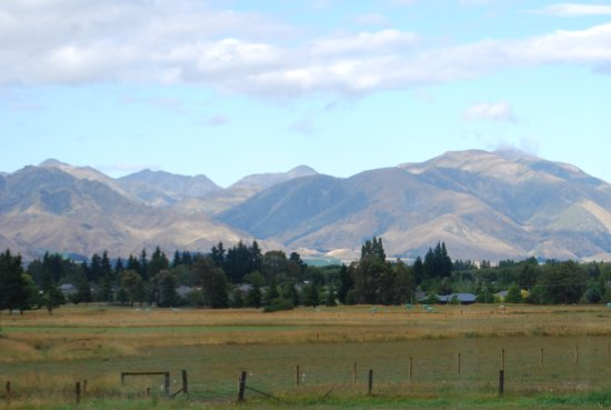 Hanmer Springs Scenic Views Motel: Pretty as a picture!
