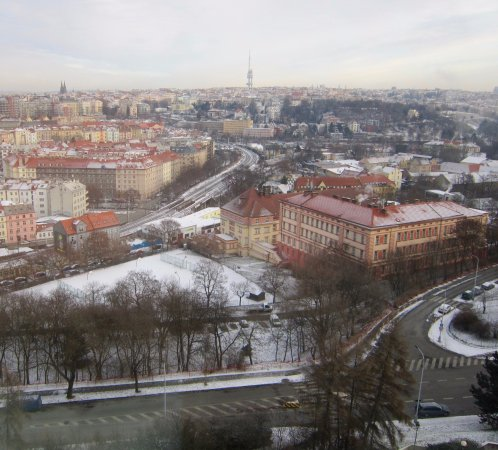Corinthia Hotel Prague: View from our room