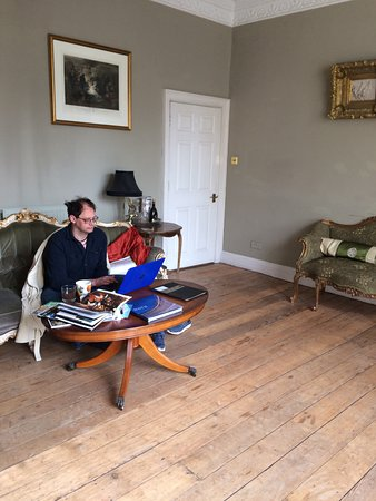 Bathwick Street B & B: A wonderful place to study