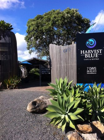 Harvest Blue Cafe: Entrance