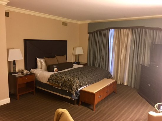 The Chase Park Plaza: Chase Park room