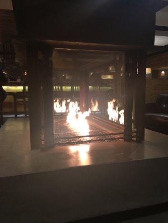 Chino, Калифорния: Inside fireplace