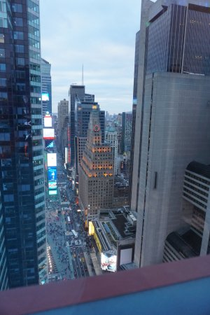 Doubletree Suites By Hilton Hotel New York City Times Square View From Left Window