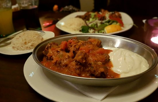 Woodford, UK: Lamb Kofte Iskender: Quality