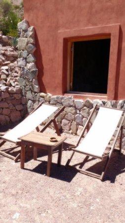 Cerro Chico: terraza de la cabaña
