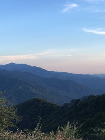 Three Rivers, Kalifornien: On our way down from 8000 feet.