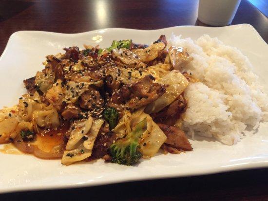 Spicy Chicken Picture Of Teriyaki Kitchen Houston Tripadvisor