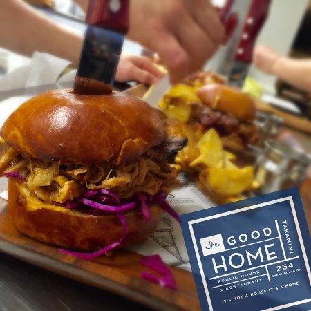 Takanini, نيوزيلندا: Pulled Pork Burger