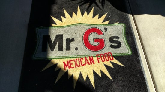 Mr G: Entrance to restaurant
