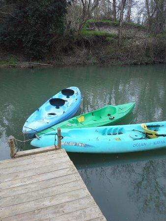 Seguin, Teksas: Kayaks