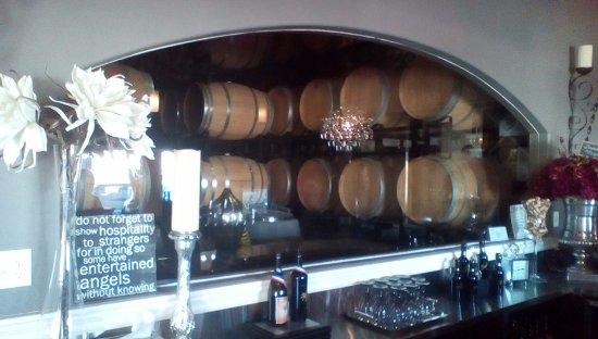 Paso Robles, CA: The barrel room