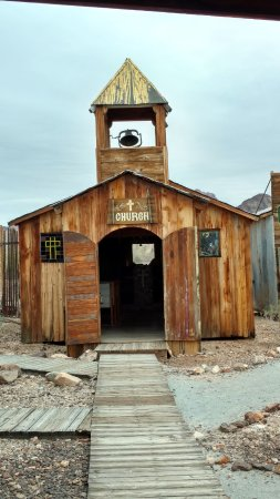 Castle Dome Mines Museum & Ghost Town: Church building in Castle Dome