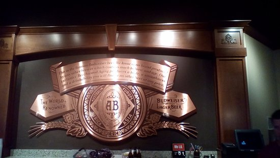 Budweiser Brewery Tours: Cozy up to the bar and have a beer