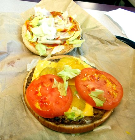 Orange, VA: Cheese whopper