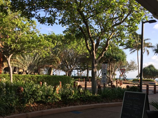 Bargara, Australie : View from outside dining area