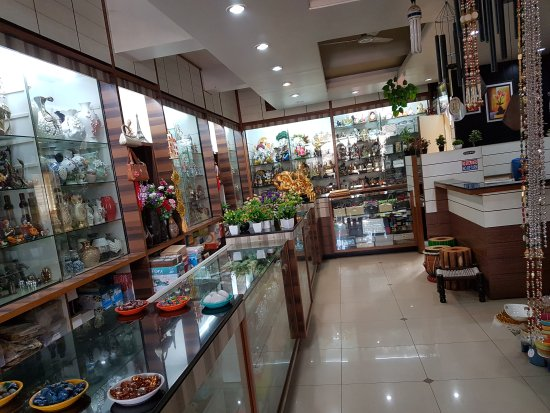 Belgaum, India: Roopam-the gift shop