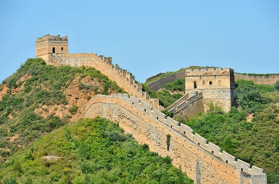 Great Wall Of China At Badaling And