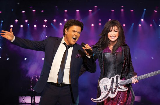 Donny and Marie at Flamingo Hotel and...
