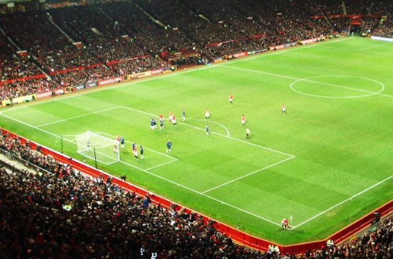 Old Trafford Stadium Manchester...