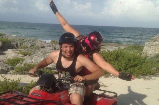 Cozumel ATV Off-Road Adventure and Playa Uvas Snorkel Option