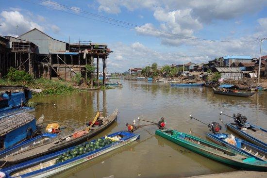 Kampong Chhnang, Cambodge : Berges des rivière