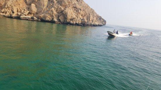 Dibba Al Bay Ah, Oman: Lima Coast Banana Boat