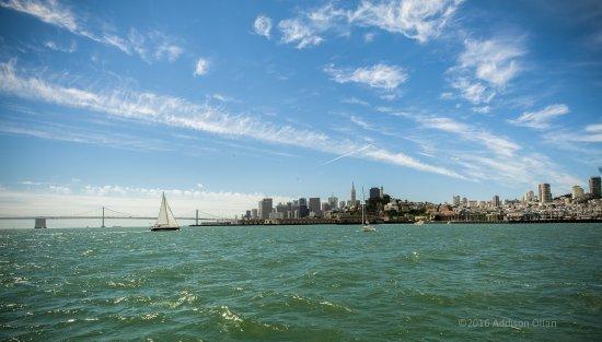 Sausalito, Kalifornien: San Francisco, it's always in view