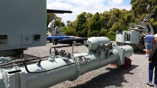Albany, Australia: Torpedo tube
